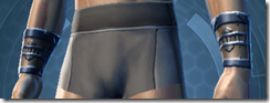 Yavin Agent Imp Male Bracers