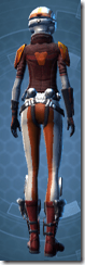 Yavin Smuggler Pub - Female Back