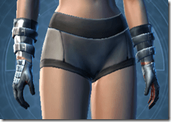 Yavin inquisitor Female Handwraps