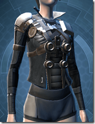 Nefarious Bandit Female Breastplate