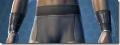Nefarious Bandit Male Bracers