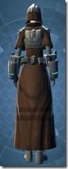 Blade Savant - Female Back