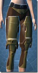 Blade Savant Female Greaves