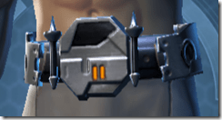Fearsome Harbinger Male Belt
