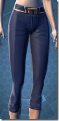 Formal Militant Female Pants