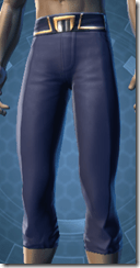 Formal Militant Male Pants
