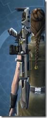 YV-25 Starforged Blaster Rifle Stowed
