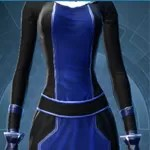 Black and Deep Blue Dye Module