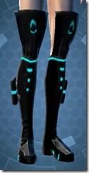 Blue Scalene Female Boots