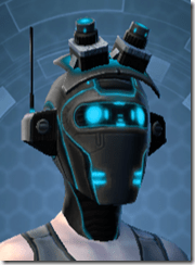 Blue Scalene Female Headgear