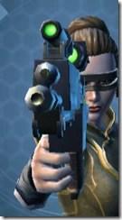 CZR-9001 Blaster Pistol - Front