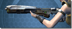 CZR-9001 Blaster Rifle - Left
