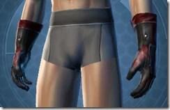 Dark Seeker Male Gloves