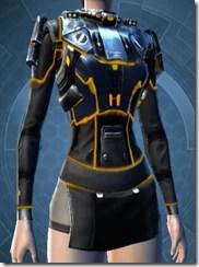 Gold Scalene Female Chestguard