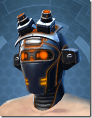 Gold Scalene Male Headgear