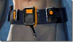 Gold Scalene Male Utility Belt