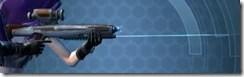 Gray Helix Blaster Rifle - Right