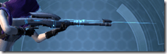 Gray Helix Sniper Rifle - Right