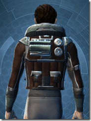 Outrider - Male Back