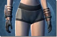 Revanite Vindicator Female Gauntlets