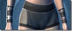 Revealing Bodysuit Female Wristguards