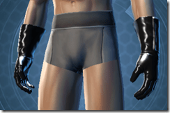 Revealing Bodysuit Male Gloves