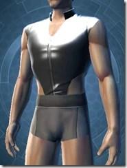 Revealing Bodysuit Male Jacket