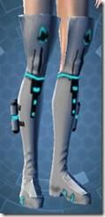 White Scalene Female Boots