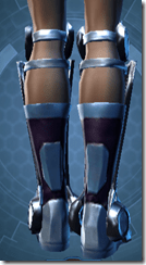 Ardent Blade's Boots Dyed