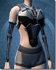 B-100 Cyberbetic Armor Female Breastplate