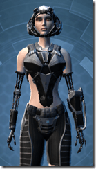 B-100 Cyberbetic Armor - Female Close