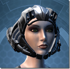 B-100 Cyberbetic Armor Female Helmet