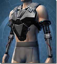 B-100 Cyberbetic Armor Male Breastplate