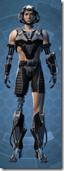 B-100 Cyberbetic Armor - Male Front