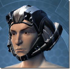 B-100 Cyberbetic Armor Male Helmet