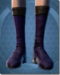 Bantha Hide Footgear Dyed