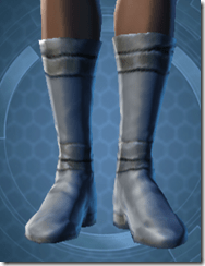 Bantha Hide Footgear - Female Front