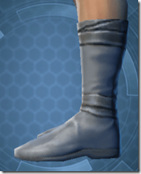 Bantha Hide Footgear - Male Left