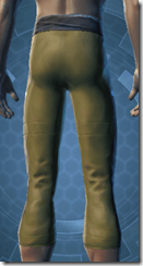 Bantha Hide Leggings - Male Back