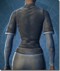 Bantha Hide Vest - Female Back