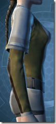 Bantha Hide Vest - Female Right