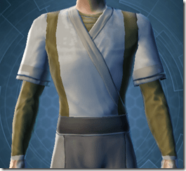 Bantha Hide Vest - Male Front