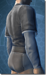 Bantha Hide Vest - Male Right