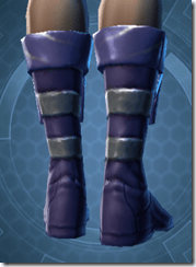 Battlemind's Boots - Female Back