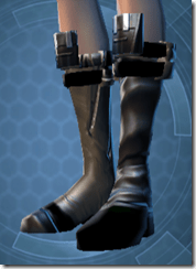 Battlemind's Boots - Female Left