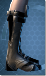 Battlemind's Boots - Female Right