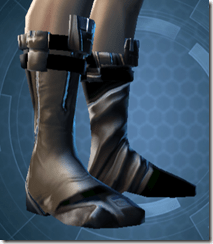 Battlemind's Boots - Male Right