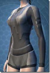 Bolted Body Armor - Female Left