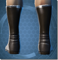 Bolted Boots - Male Back