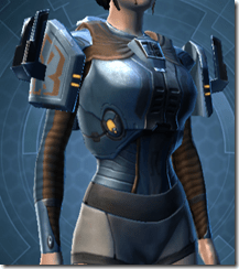 Citadel Hunter Female Body Armor